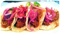 pibil tacos and plate